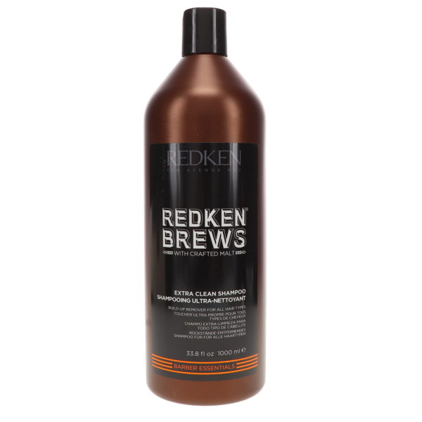 Redken Brews Extra Clean Shampoo 33.8 oz