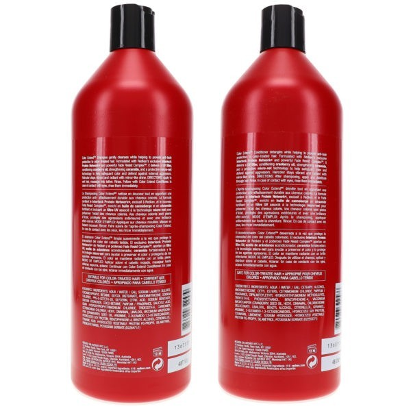 Redken Color Extend Shampoo 33.8 oz & Color Extend Conditioner 33.8 oz Combo Pack