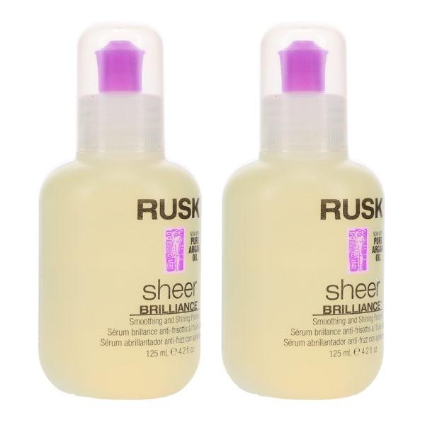 Rusk Sheer Brilliance 4.2 oz 2 Pack