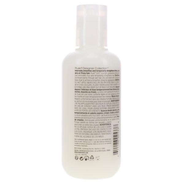 Rusk Str8 Anti-Frizz and Anti-Curl Lotion 6 oz