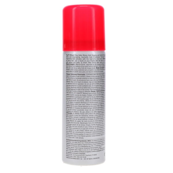 Rusk W8less Plus Extra Strong Hold Hairspray 1.5 oz