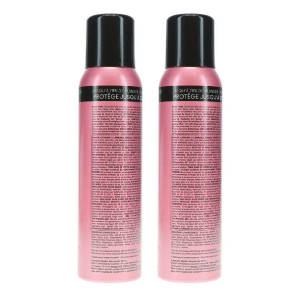 Sexy Hair Hot Sexy Hair Protect Me 450° Hot Tool Protection Hairspray 4.2 oz 2 Pack