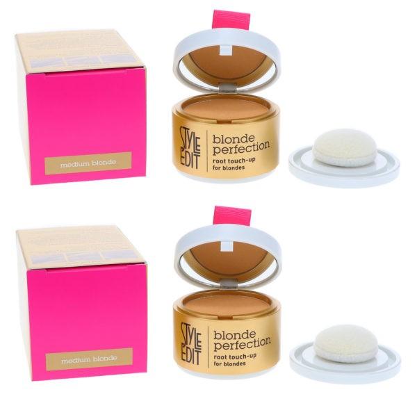 Style Edit Blonde Root Touch Up Powder Medium Blonde 0.13 oz 2 Pack