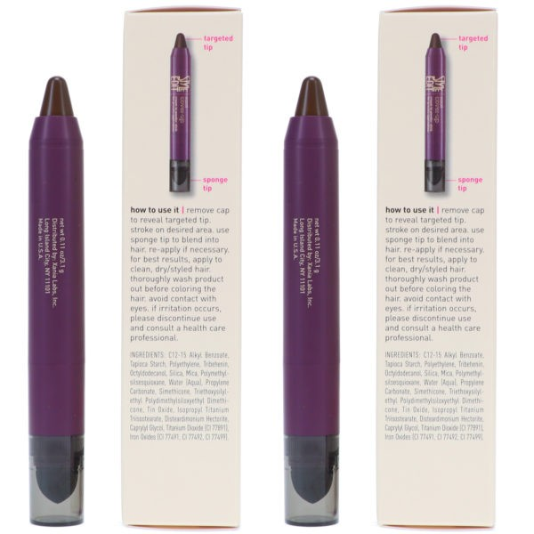 Style Edit Instant Root Cover Up Stick Dark Brown 0.11 oz 2 Pack