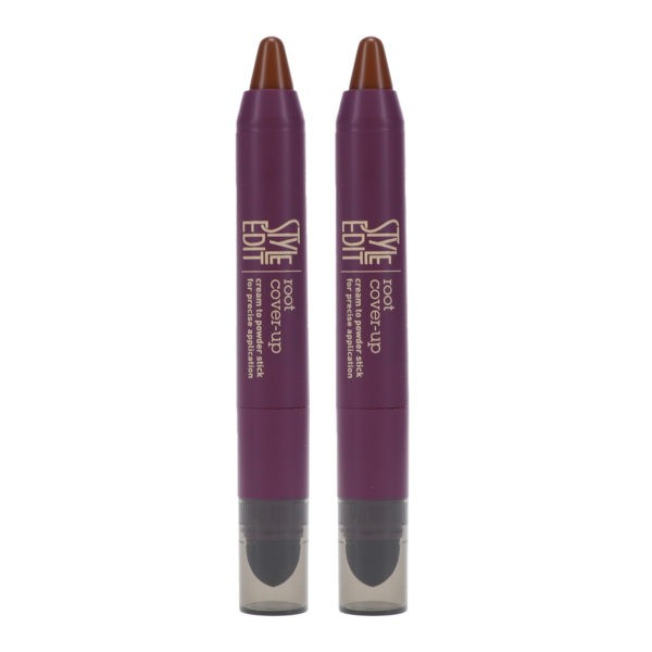 Style Edit Instant Root Cover Up Stick Medium Brown 0.11 oz 2 Pack