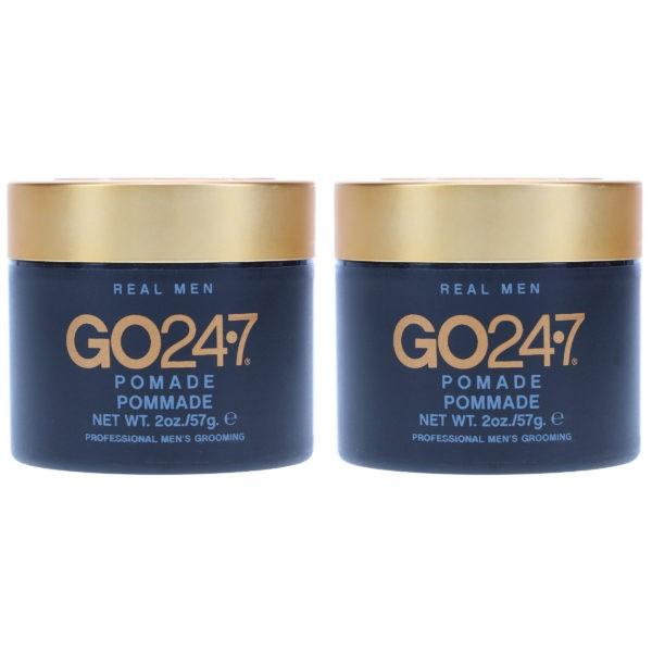 UNITE Hair GO247 Real Men Pomade 2 oz 2 Pack