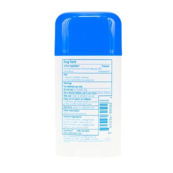 Vanicream Anti-Perspirant Deodorant 2.25 oz 3 Pack