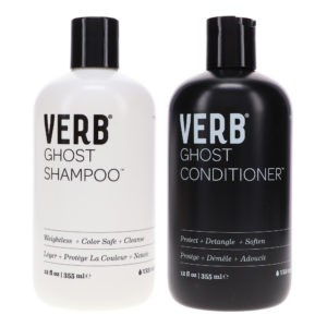 Verb Ghost Shampoo 12 oz & Ghost Conditioner 12 oz Combo Pack