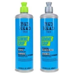 TIGI Bed Head Gimme Grip Texturizing Shampoo 13.53 oz & Bed Head Gimme Grip Texturizing Conditioning Jelly 13.53 oz Combo Pack