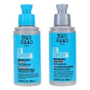 TIGI Bed Head Recovery Moisture Rush Shampoo 3.38 oz & Bed Head Recovery Moisture Rush Conditioner 3.38 oz Combo Pack