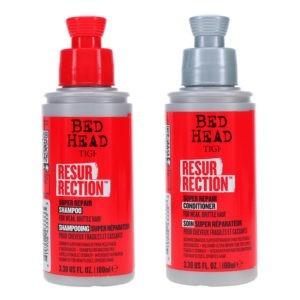 TIGI Bed Head Resurrection Super Repair Shampoo 3.38 oz & Bed Head Resurrection Super Repair Conditioner 3.38 oz Combo Pack