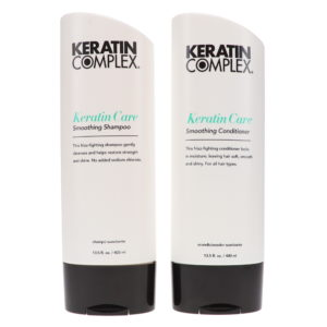 Keratin Complex Keratin Care Smoothing Shampoo 13.5 oz & Keratin Care Smoothing Conditioner 13.5 oz Combo Pack